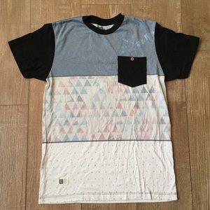 Lira Men's City Geometric Color Block T-shirt 🏙